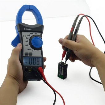 Auto Range True RMS Frequency DC AC Clamp Meter Multimeter withDual LCD Backlight HP-870N - intl