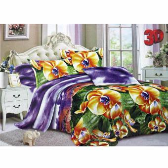 Harga Angel Set Sprei Purple Sunset MS - King 180 x 200