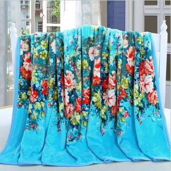 Air Conditioning Flannel Blankets Tourism/Gift/Sofa/Office Throws 120*200cm 12801