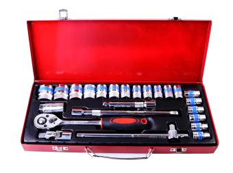 Harga Terbaru Ronaco D Tools - Kunci Socket Wrench Pas Sok Shock Sock Set 24 Pcs