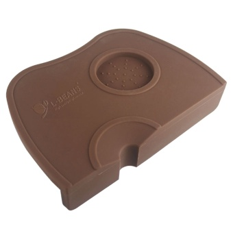Silicone Coffee Espresso Tamping Corner Mat Pad Tool Made for Baristas With Non-Slippery Food Safe Silicone Coffee - intl