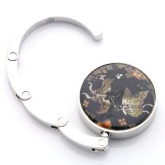 Round Table Butterfly Foldable Purse Bag Hanger Handbag Hook Holder Gift