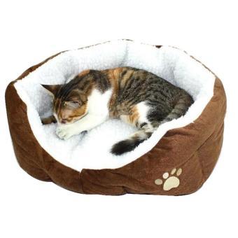 niceEshop lucu bekas cakar kucing nyaman hewan peliharaan anjing anak anjing sarang bulu tambahan bantalan lunak. >>>>