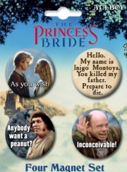 Princess Bride Round Magnet Set - intl