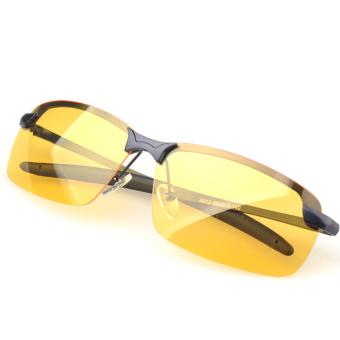 UV400 Night Vision Glasses Anti-glare Polarized Lens Eyewear Eyeglasses Driving Brightening Goggles Black