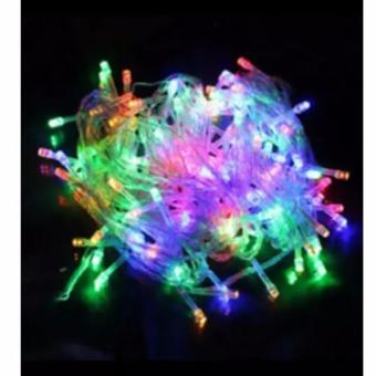 Lampu-Led-Pohon-Natal-Twinkle-Hias-Taman-Multifunction-100-Led-10m-Top CG