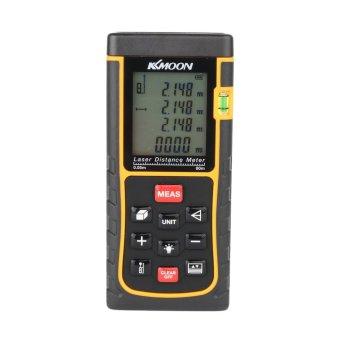 Harga KKmoon RZE-80 80m/262ft Digital Laser Distance Meter Range Finder Measure Distance