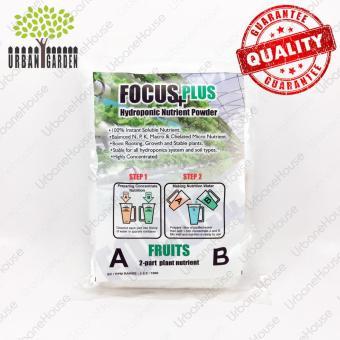 Harga Focus+ Plus Nutrisi Tanaman Hidroponik Buah Bubuk Konsetrat 500ml Premium