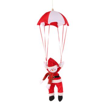 BolehDeals Christmas Tree Hanging Decor Red Snowman In Parachute Ornament Xmas Gift