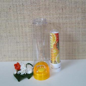 Botol Susu Botol Mini Botol BPA Free Infused Water Bottle Tritan 1 Yellow