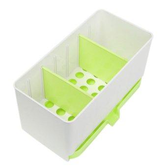 Wastafel Dapur Pemegang Rak Peralatan Baru Penyelenggara Penyimpanan Rak Plastik Permen