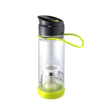 Twingo TEA maker auto bottle with portable tea maker(green)