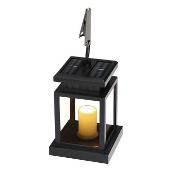 Harga niceEshop lilin LED Solar Lantern antik bertenaga surya Mission Waterproof lampu lentera tergantung payung dengan