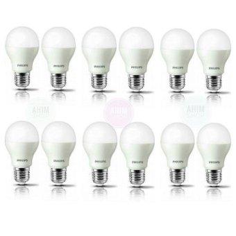Philips LED Bulb 6W A60 - Cool Daylight - 12pcs