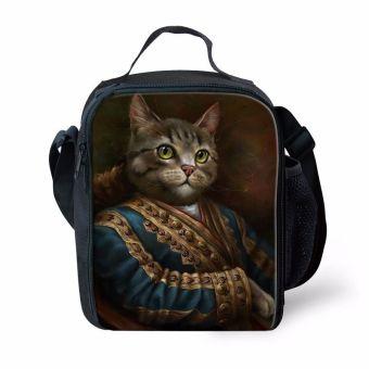 BolehDeals kucing portabel pendingin termal terisolasi mengangkut kotak makan tas piknik perjalanan #5 - Internasional