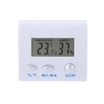 Digital LCD Indoor/Outdoor Hygrometer Meter Thermo-hygrometers Measuring Tool - intl