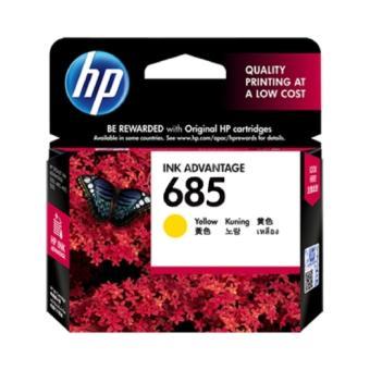HP 685 Yellow Ink Cartridge Original - CZ124AA