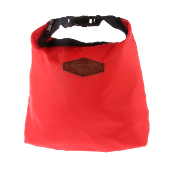 BolehDeals Waterproof Thermal Cooler Insulated Lunch Tote Storage Picnic Carry Bag Red