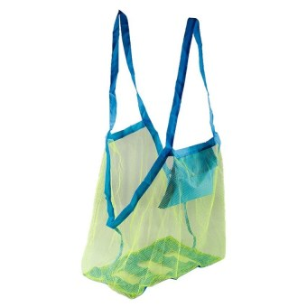 HKS OEM Extra Large Sand Away Beach Mesh Bag Children Beach Toys Clothes Towel Toy Collection Net