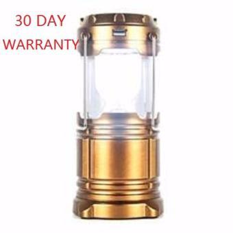 Lampu Emergency - Lentera Camping Powerbank Solar Gold. >>>>