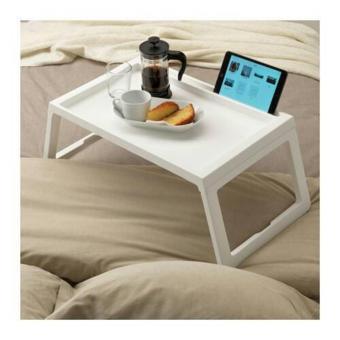 NEW - Ikea Klipsk ~ Baki Untuk Tempat Tidur | 56x36x26Cm | Bed Tray