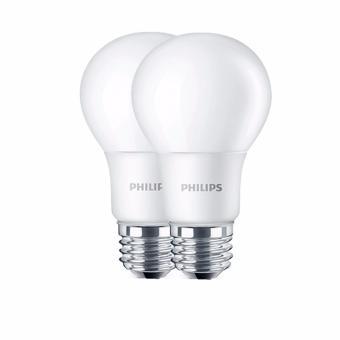 PHILIPS Bohlam Lampu LED- (Kuning) [6 W - 2 Pcs]