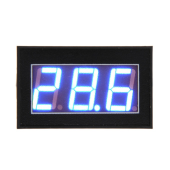 V56D Waterproof DC3.0-30V Voltmeter Blue Digital Display Potting