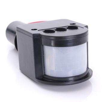 Harga 7 buah LED kolam 110-220 V infra merah PIR Sensor gerak detektor lampu