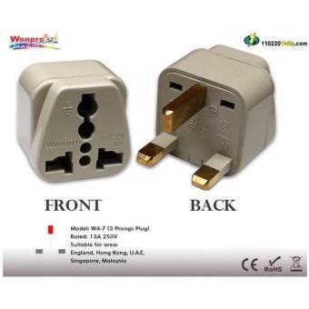 Harga Wonpro Colokan Steker Kaki 3 listrik ke Universal Travel Adapter ACC-WP-WA