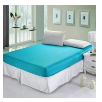 Jaxine Sprei Waterproof Biru Muda 160