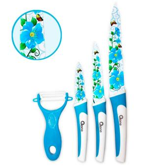 Flower Knife Set Oxone OX-607 Biru