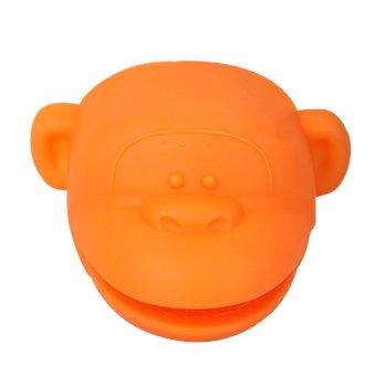 1pcs Heat Resistance Monkey Shape Platinum Silicone Glove