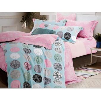jaxine bedcover set satin/katun jepang tinggi 40 winter woolis