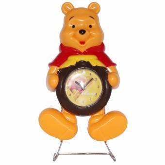 Harga Ruibao Clock Ayunan Winnie The Pooh Jam Weker RB018