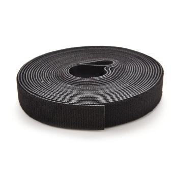 Lvzhi Self Attaching Velcro Hook and Loop Tape Fastener Black - intl