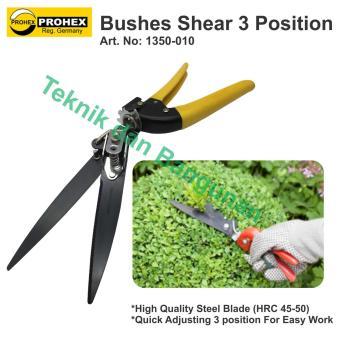 Prohex Bushes Shear/ Gunting Pagar Prohex 3 Posisi