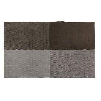 BolehDeals Antiskid Placemat Vintage PVC Insulation Pad Plaid Dining Table Teslin Mat D