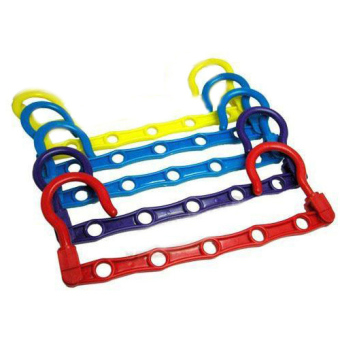 Wonder Saver Clothes Hanger / Gantungan Baju Minimalis Multifungsi - Set of 4s Multicolor