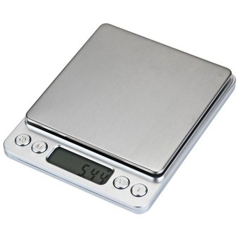 LCD Kitchen Mini Digital Electronic Scale (Silver) - intl