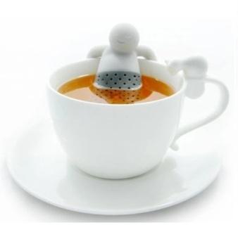 Mr. Tea Infuser / Saringan Teh - Abu-abu