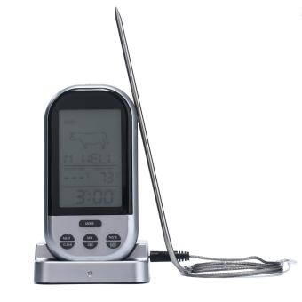 chechang Long Range Wireless Digital Food Thermometer Timer for Oven,Grill,BBQ,Home Cook