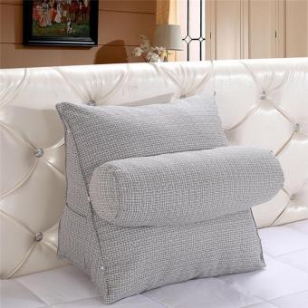 Soft Washable Cushions Pillow Protect Spine Rest Cushion for Sofa Office - intl