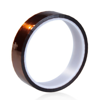 20mm x 30m Heat Resistant High Temperature Polyimide Adhesive Tape Tawny