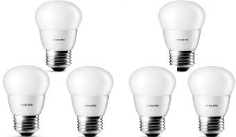 6pcs Lampu Bohlam LED Philips 4w/watt - 40watt Putih