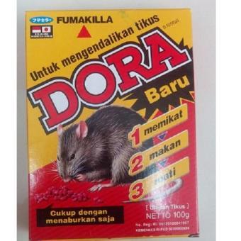 Sloof Racun Tikus DORA 100gr - 5 pcs