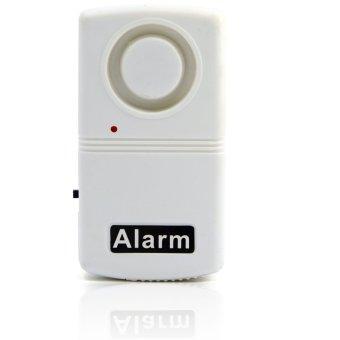 Radio Anti-Pencurian Alarm Peringatan Siaga Memantau Sistem Keamanan Pintu Masuk Jendela Rumah Putih
