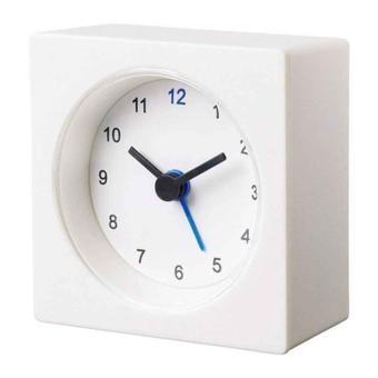 ... Dekad Alarm Clock Silent Clock Desain Vintage - Hitam. Source · Harga IKEA Vackis Jam Alarm / Jam Beker - ORIGINAL