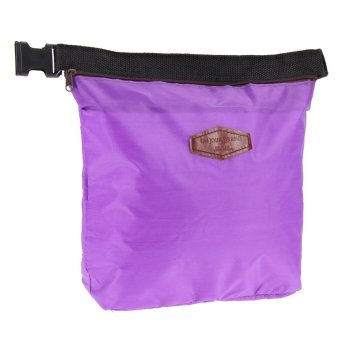 Waterproof Thermal Cooler Insulated Lunch Box Storage (Purple)