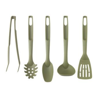 Ikea speciell, peralatan dapur isi 5 pcs, hijau