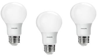 3pcs Lampu Bohlam LED Philips 6w/watt - 50watt Putih